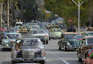 Classic car rally to be held in Baku (PHOTO)