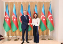Azerbaijani first VP meets with French minister of economy and finance (PHOTO) - Gallery Thumbnail