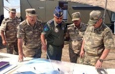 Foreign specialists, divers involved in search operations of Azerbaijani crashed military aircraft (PHOTO) - Gallery Thumbnail