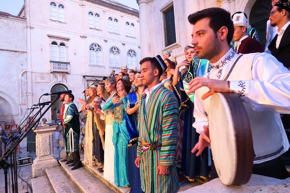 Азербайджанские песни прозвучали на Балканах (ФОТО) - Gallery Image