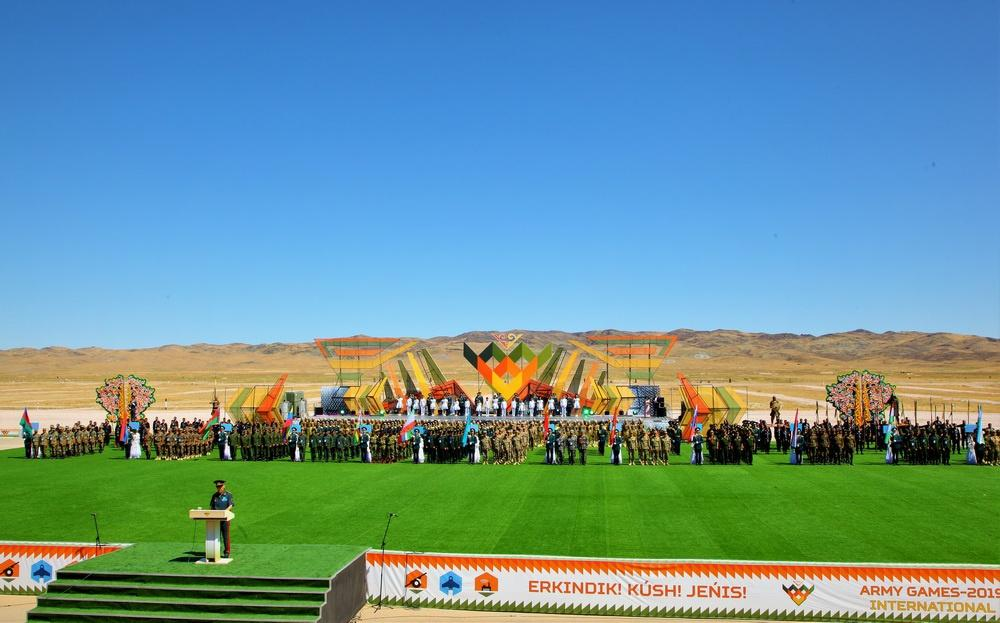 """Opening ceremony of """"Masters of Artillery Fire"""" contest held in Kazakhstan (PHOTO) - Gallery Image"""
