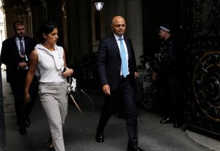 UK's Javid not expecting recession 'at all' after GDP drops