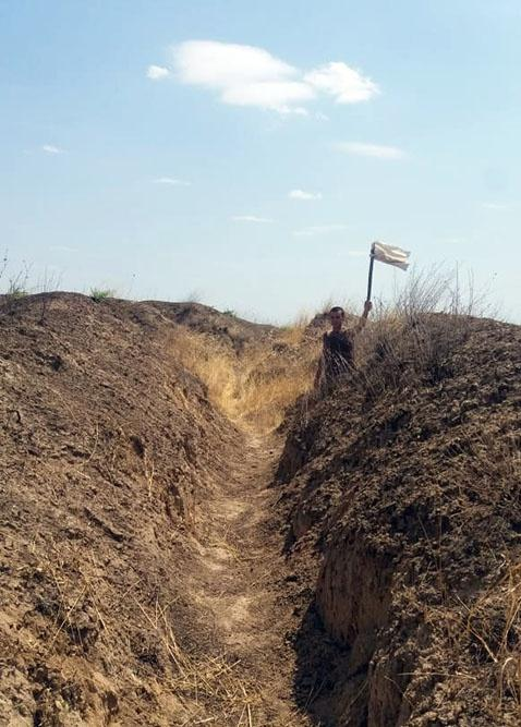 Armenian deserter soldier detained on front line of Azerbaijani and Armenian troops (PHOTO) - Gallery Image