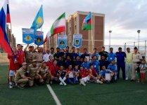 """""""Dəniz kuboku – 2019"""" müsabiqəsinin iştirakçıları arasında mini-futbol turniri keçirilib (FOTO) - Gallery Thumbnail"""