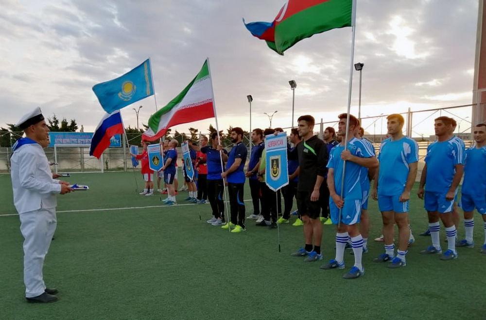 """""""Dəniz kuboku – 2019"""" müsabiqəsinin iştirakçıları arasında mini-futbol turniri keçirilib (FOTO) - Gallery Image"""
