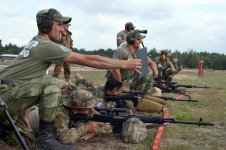 """Fourth stage of """"Sniper Frontier"""" contest held (PHOTO) - Gallery Thumbnail"""