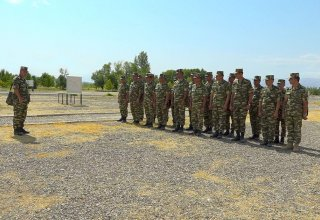 Classes on command training conducted in Azerbaijan's Nakhchivan Separate Combined-arms Army (PHOTO/VIDEO)