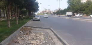 Baku Transport Agency continues to improve road infrastructure (PHOTO) - Gallery Thumbnail