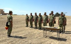 Classes on command training conducted in Azerbaijan's Nakhchivan Separate Combined-arms Army (PHOTO/VIDEO) - Gallery Thumbnail