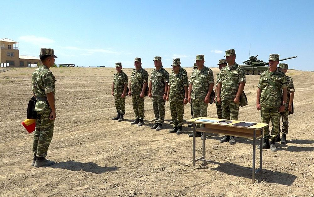 Classes on command training conducted in Azerbaijan's Nakhchivan Separate Combined-arms Army (PHOTO/VIDEO) - Gallery Image