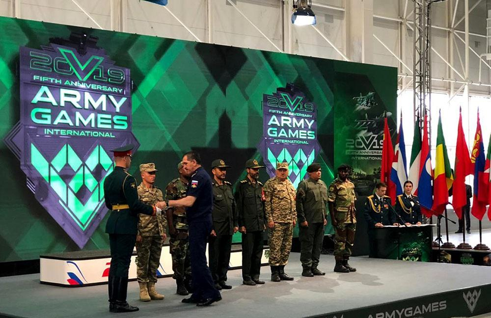 Azerbaijani servicemen awarded at International Army Games 2019 contest (PHOTO/VIDEO) - Gallery Image