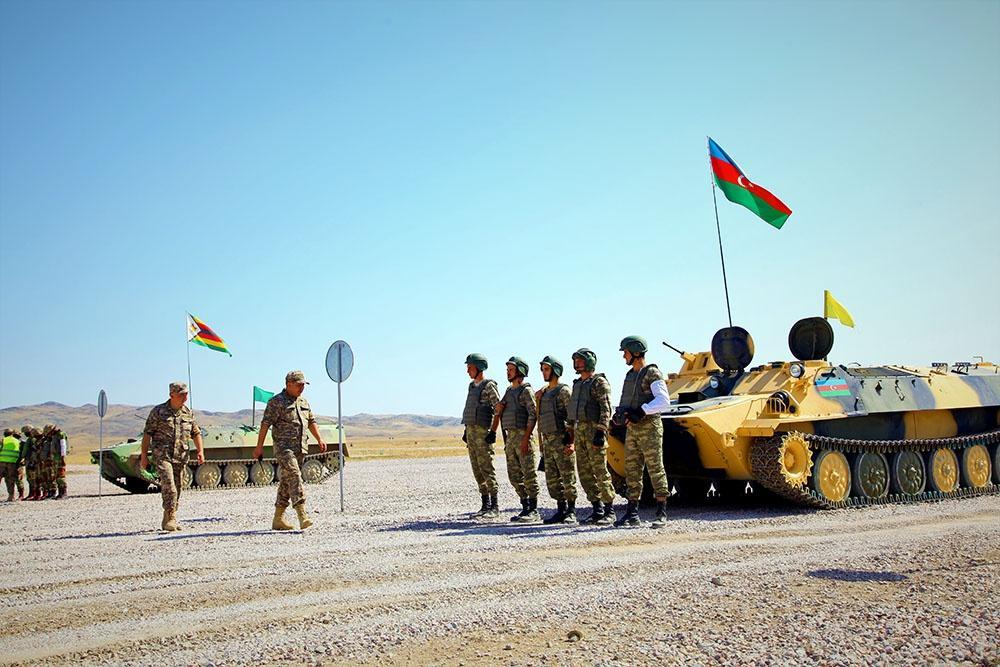 """""""Artilleriya atəşinin ustaları"""" müsabiqəsi başa çatıb (FOTO/VİDEO) - Gallery Image"""