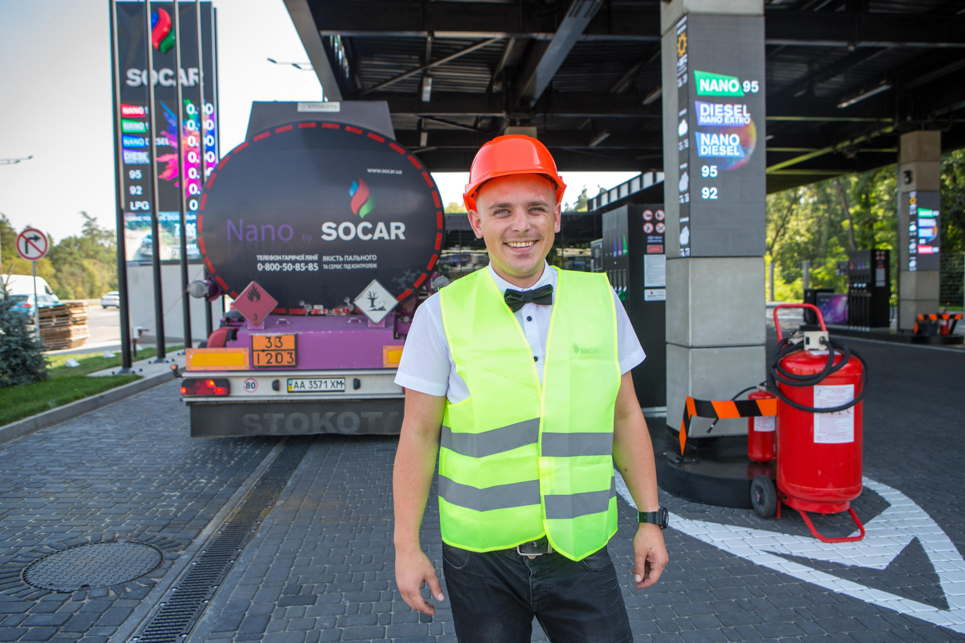 SOCAR opens new gas filling station in Ukraine (PHOTO) - Gallery Image