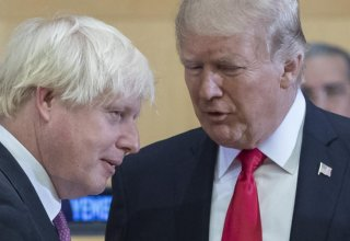 Trump invites Britain's Johnson to the White House in new year