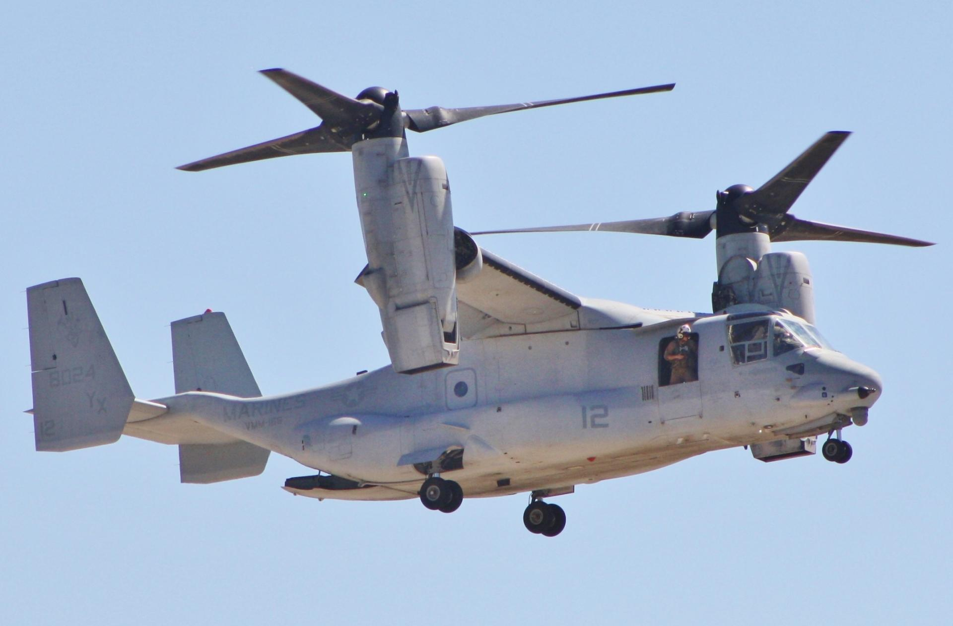 Israel one step closer to purchasing V-22 osprey