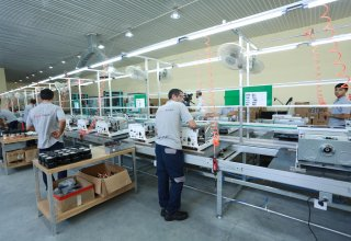 Combi boiler production plant commissioned in Azerbaijan's Absheron region (PHOTO)