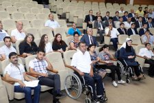 Work on support for self-employment of disabled people presented in Azerbaijan (PHOTO) - Gallery Thumbnail