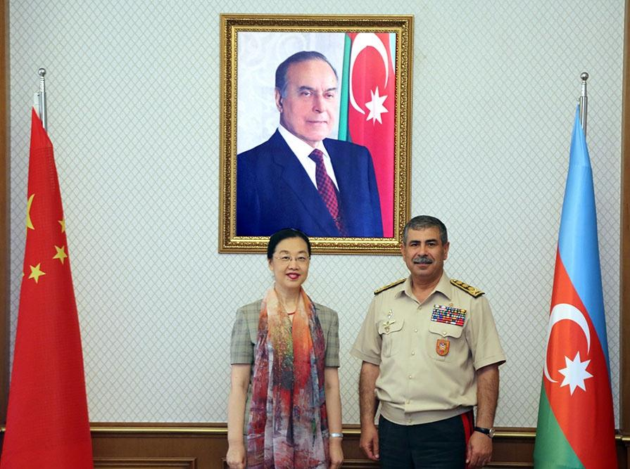 Azerbaijan, China discuss issues of military-technical co-op (PHOTO) - Gallery Image