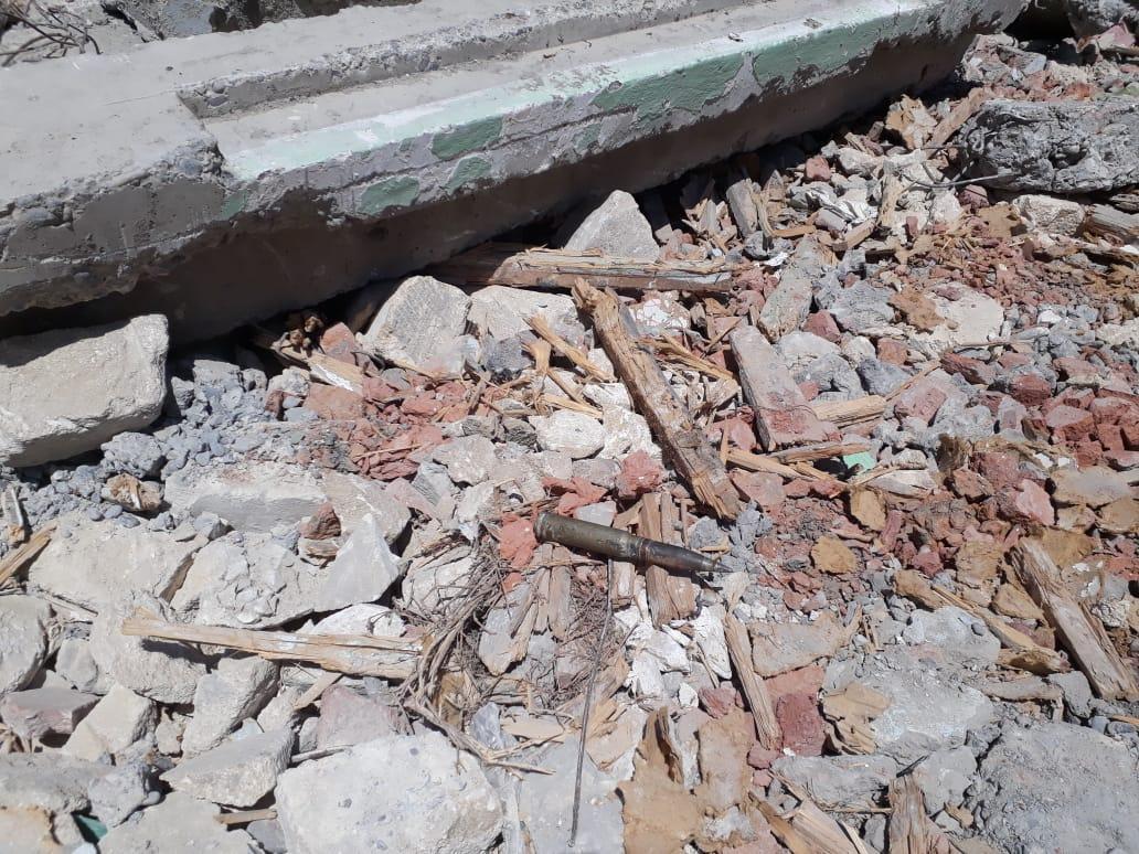 В Барде обнаружен артиллерийский снаряд (ФОТО)