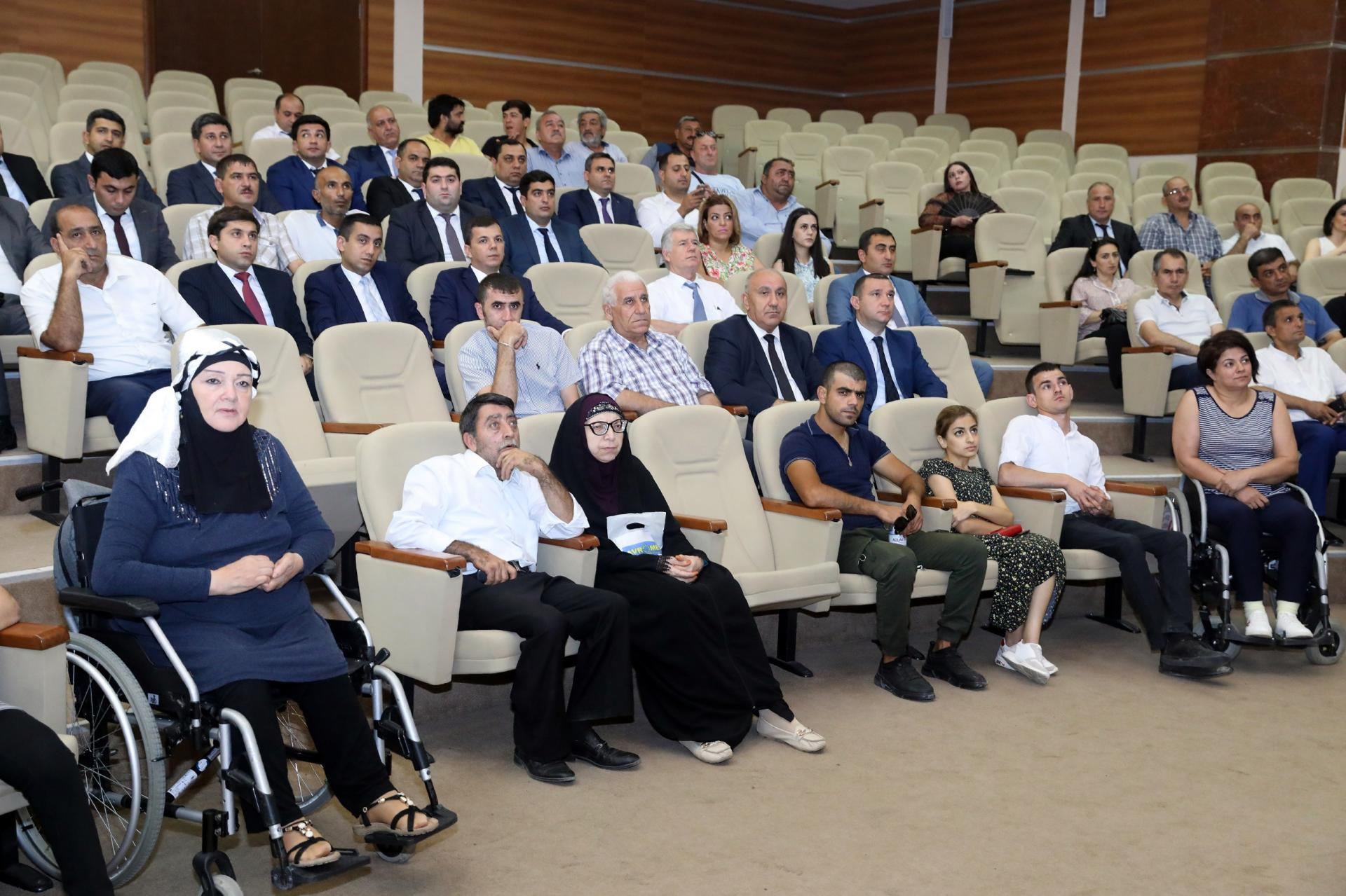 Work on support for self-employment of disabled people presented in Azerbaijan (PHOTO) - Gallery Image