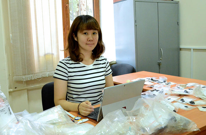 Trasological analysis conducted on artifacts found in Azerbaijan