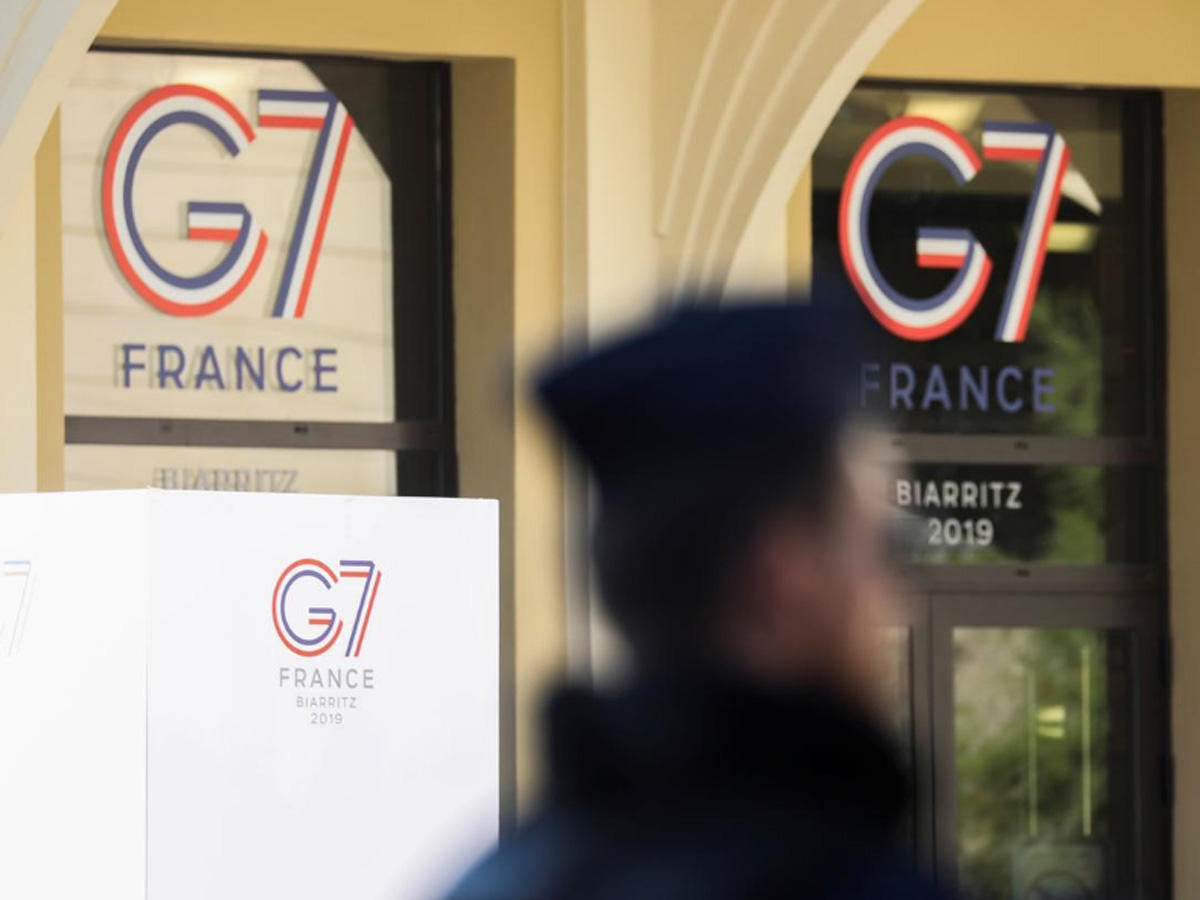 Global disputes set to jolt G7 summit in French resort
