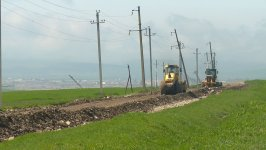 Highway under reconstruction in Azerbaijan's Shamakhi district (PHOTO) - Gallery Thumbnail