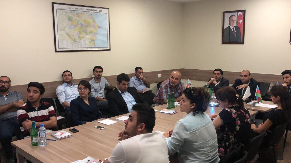 Azerbaijan continues trainings for SME entities (PHOTO) - Gallery Image