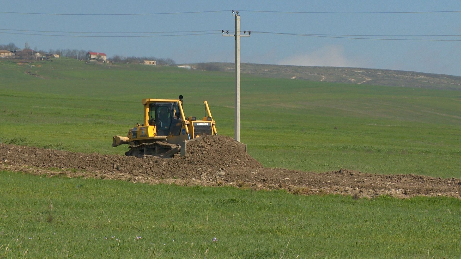 Highway under reconstruction in Azerbaijan's Shamakhi district (PHOTO) - Gallery Image