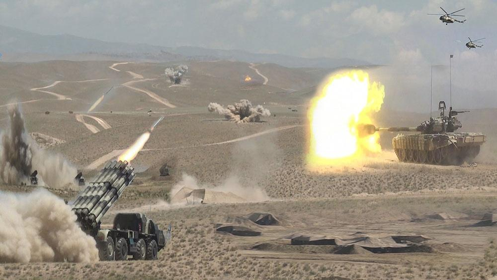 Command and Staff Exercises of Nakhchivan garrison troops ended (VIDEO)