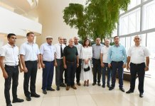 Azerbaijan's First VP Mehriban Aliyeva attends event with IDPs (PHOTO) - Gallery Thumbnail