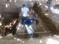 Ancient archaeological artifacts discovered in Shabran (PHOTO) - Gallery Thumbnail