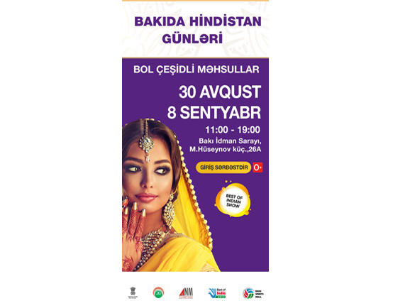 Best of India - Biggest exclusive Indian product trade show to be held in Baku