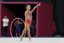 2nd day of Azerbaijan championships in rhythmic gymnastics kicks off in Baku (PHOTO) - Gallery Thumbnail
