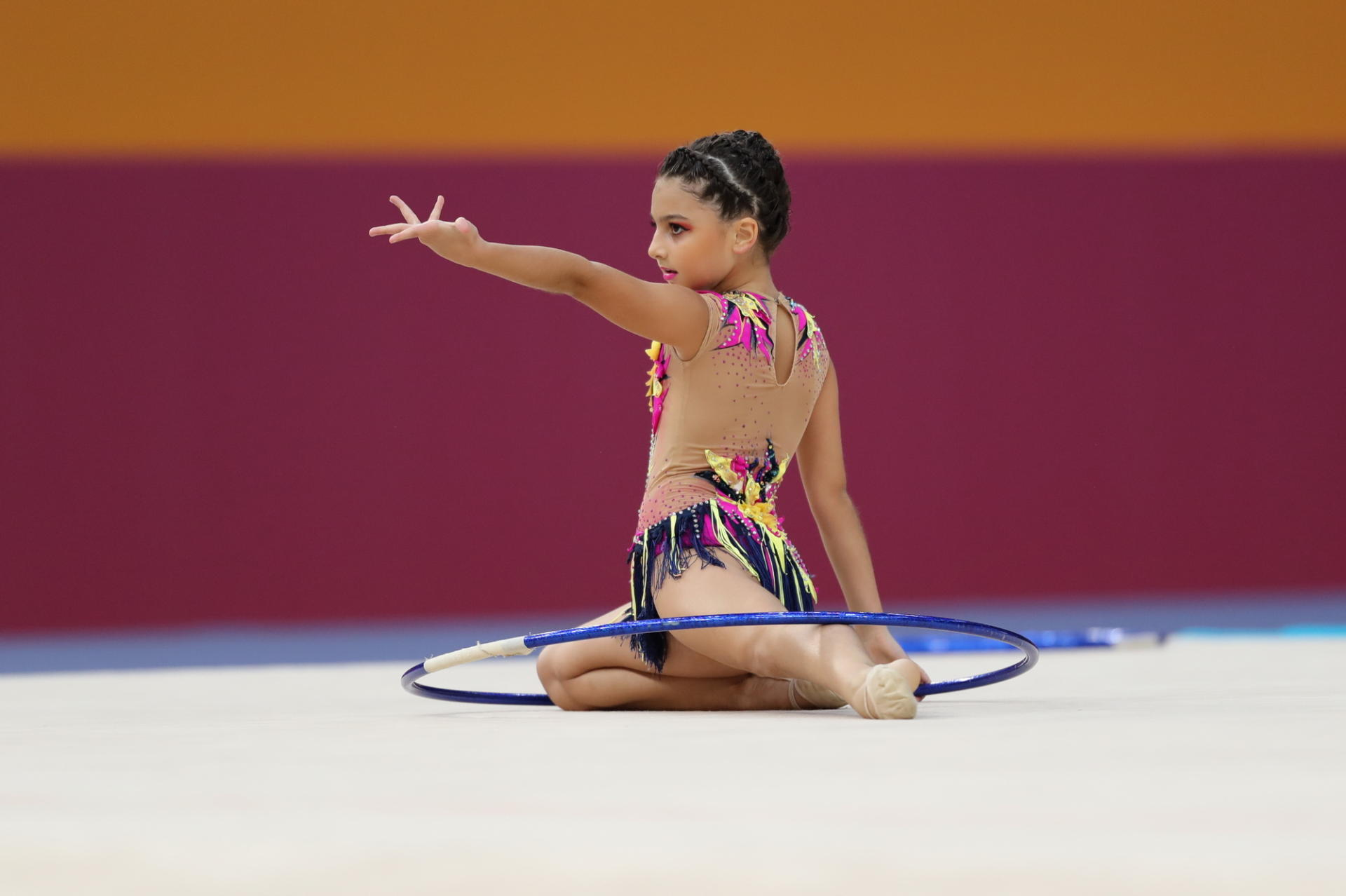 2nd day of Azerbaijan championships in rhythmic gymnastics kicks off in Baku (PHOTO) - Gallery Image
