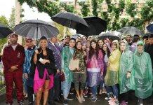 Вице-президент Фонда Гейдара Алиева Лейла Алиева ознакомилась с павильонами, организованными на Фестивале винограда и вина (ФОТО) - Gallery Thumbnail