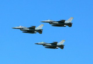 F-16 Fighter aircraft of Turkish Air Force arrive in Azerbaijan (PHOTO/VIDEO)