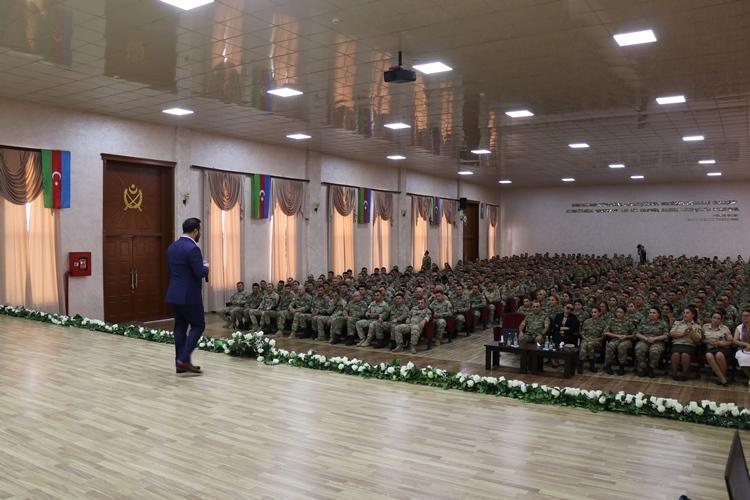 Для военнослужащих Азербайджана, Турции и Грузии проведен праздничный концерт (ФОТО) - Gallery Image