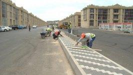 Bakının bu rayonunda müasir yol infrastrukturu yaradılır (FOTO) - Gallery Thumbnail