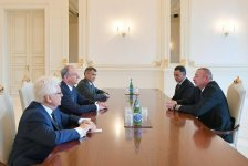 President Ilham Aliyev receives delegation led by secretary of Russian Security Council (PHOTO) - Gallery Thumbnail