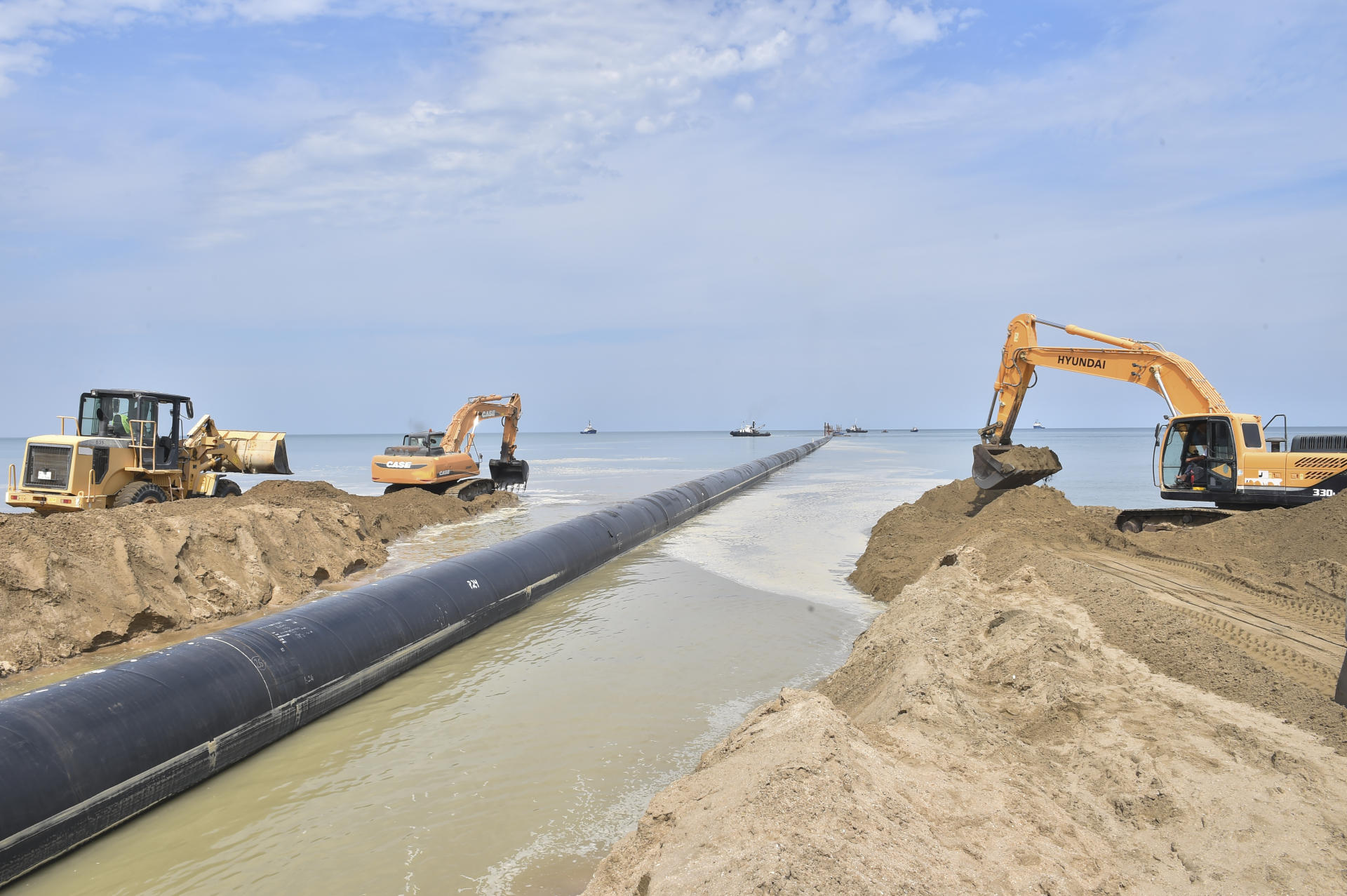 Construction of modern wastewater treatment plant nearing completion in Azerbaijan (PHOTO) - Gallery Image