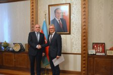 Эльмар Мамедъяров принял новоназначенного посла Хорватии в Азербайджане (ФОТО) - Gallery Thumbnail