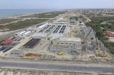 Construction of modern wastewater treatment plant nearing completion in Azerbaijan (PHOTO) - Gallery Thumbnail