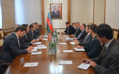 Preparation for summit of Cooperation Council of Turkic Speaking States discussed in Baku (PHOTO) - Gallery Thumbnail