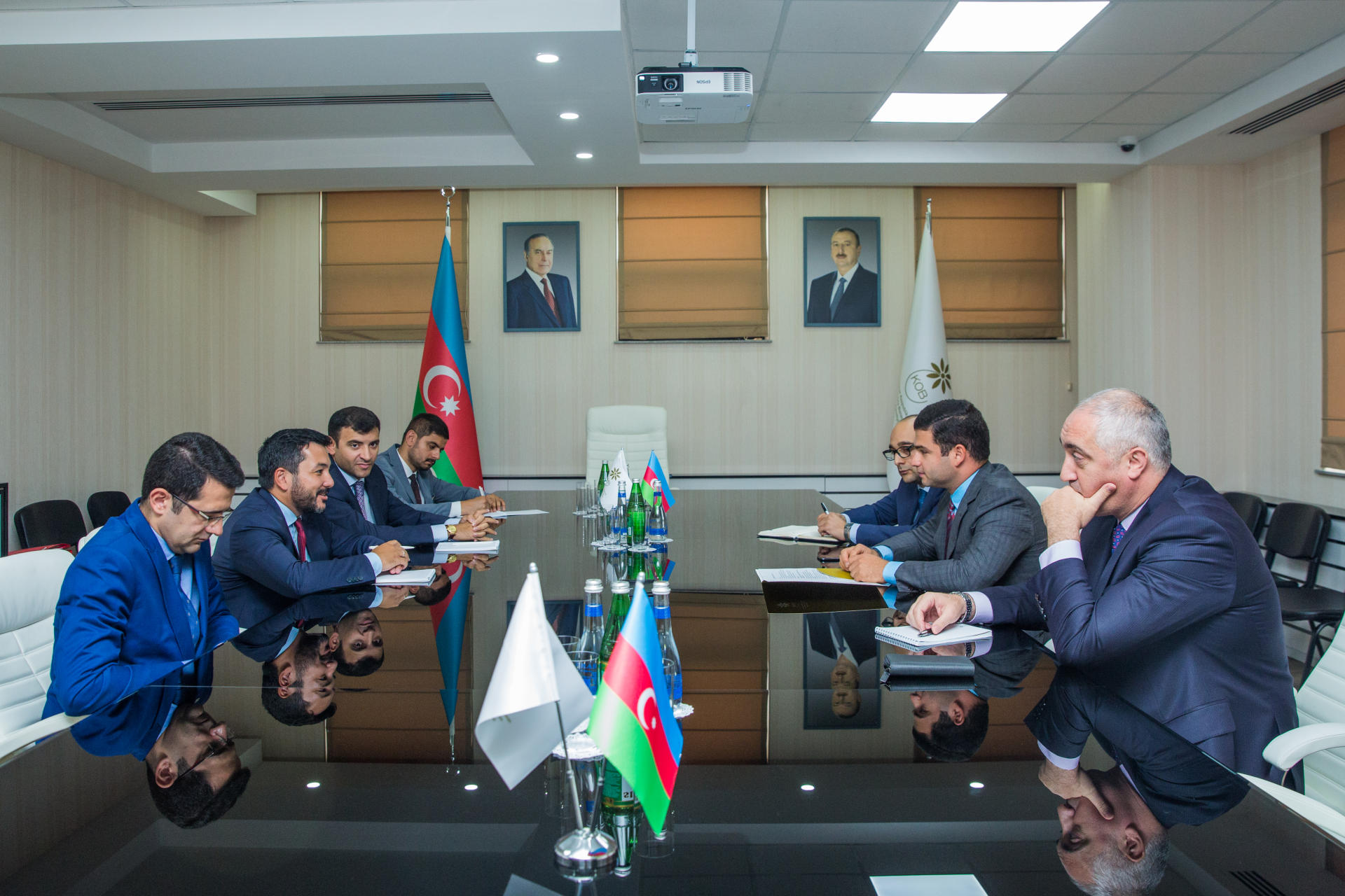 OIC Youth Forum and Azerbaijan's SME Development Agency discuss potential projects (PHOTO) - Gallery Image