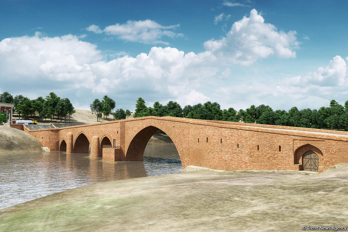 Red Bridge after reconstruction in Azerbaijan (PHOTO) - Gallery Image