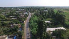 Ağdaşda 2 avtomobil yolu yenidən qurulub (FOTO) - Gallery Thumbnail