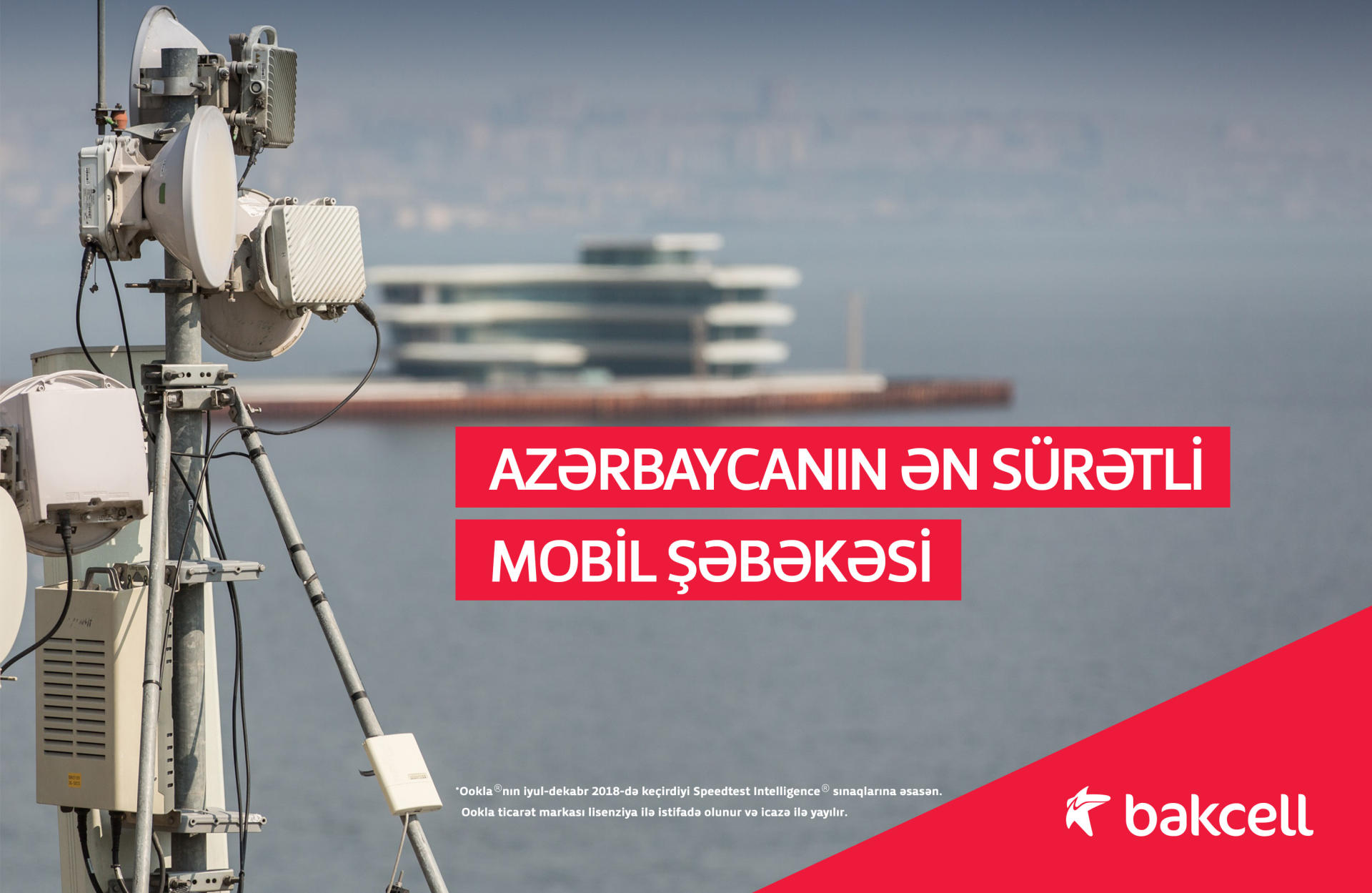 Bakcell implements fastest & largest LTE rollout in Azerbaijan