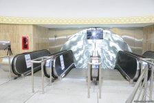После ремонта открылась станция бакинского метро «Шах Исмаил Хатаи» (ФОТО) - Gallery Thumbnail