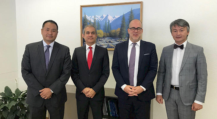 Kyrgyz Permanent Representative to UN, UNHCR Regional Office head discuss co-op issues
